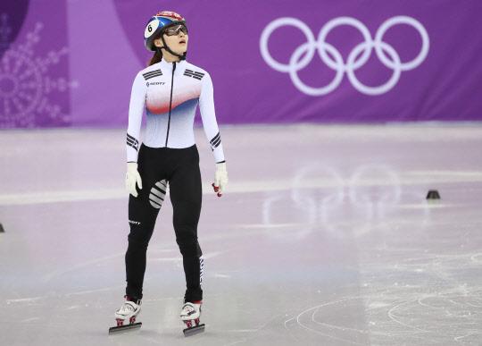 쇼트트랙 최민정, 여자 500m 결승에서 실격 `메달 실패`
